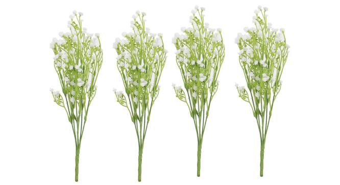 Norma Artificial Flower (White) by Urban Ladder - Cross View Design 1 - 325473