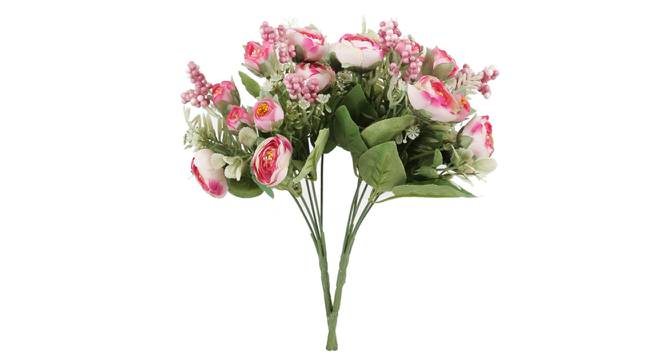 Gray Artificial Flower (Red) by Urban Ladder - Front View Design 1 - 325511