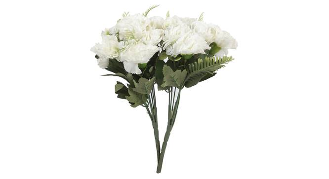 Carla Artificial Flower (White) by Urban Ladder - Front View Design 1 - 325520