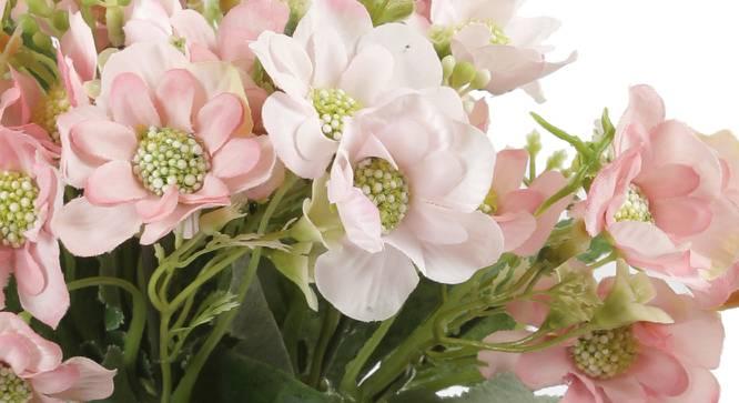 Janice Artificial Flower (Pink) by Urban Ladder - Cross View Design 1 - 325530