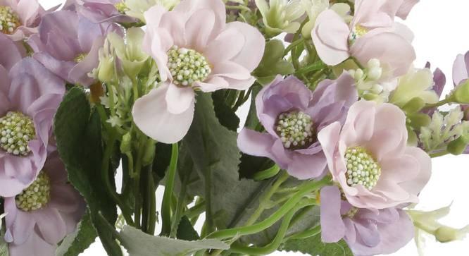 Janice Artificial Flower (Purple) by Urban Ladder - Cross View Design 1 - 325533