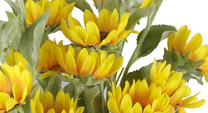 Terrie Artificial Flower (Yellow) by Urban Ladder - Cross View Design 1 - 325562