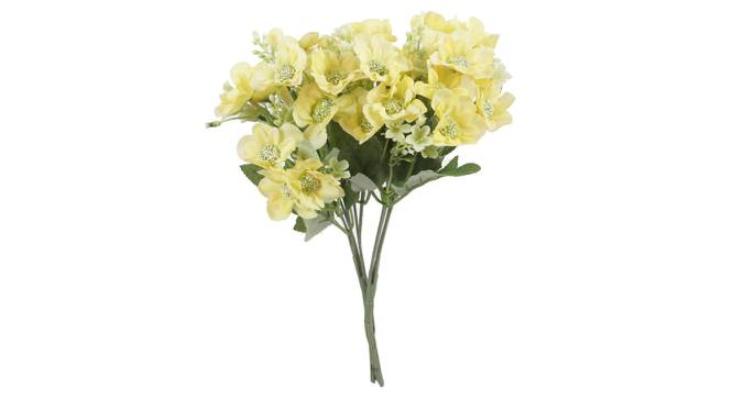 Janice Artificial Flower (Yellow) by Urban Ladder - Front View Design 1 - 325565