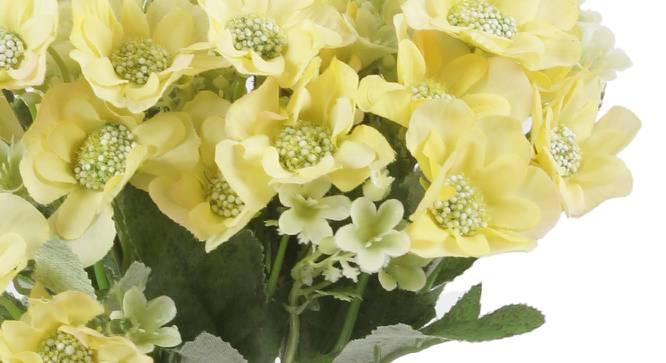 Janice Artificial Flower (Yellow) by Urban Ladder - Cross View Design 1 - 325566