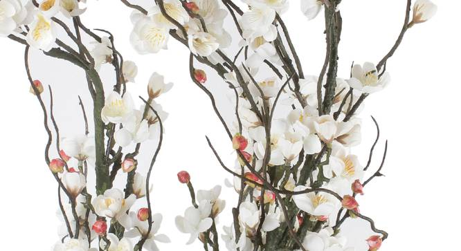 Theresa Artificial Flower (White) by Urban Ladder - Cross View Design 1 - 325572
