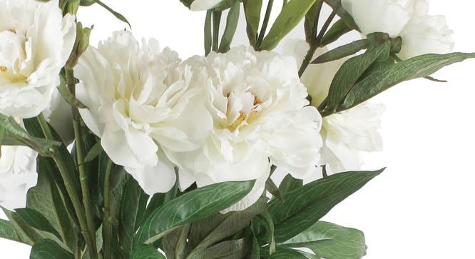 Cheryl Artificial Flower (White) by Urban Ladder - Cross View Design 1 - 325636