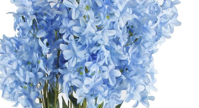 Moore Artificial Flower (Blue) by Urban Ladder - Cross View Design 1 - 325639