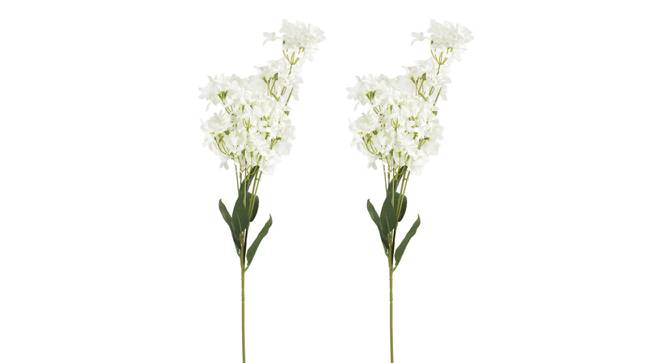Moore Artificial Flower (White) by Urban Ladder - Front View Design 1 - 325644