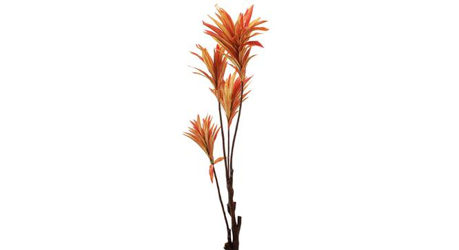 James Artificial Plant With Pot (Orange) by Urban Ladder - Front View Design 1 - 325679