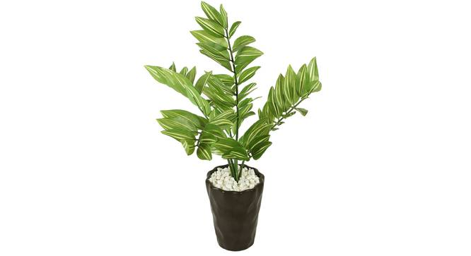 Wanda Artificial Plant With Pot (Green) by Urban Ladder - Front View Design 1 - 325718