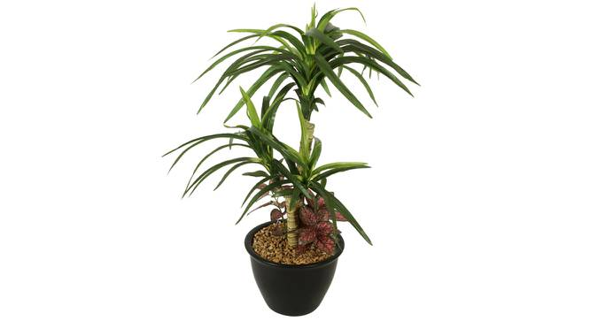 Amanda Artificial Plant With Pot (Green) by Urban Ladder - Cross View Design 1 - 325728