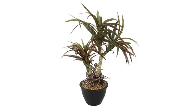 Amanda Artificial Plant With Pot (Red) by Urban Ladder - Front View Design 1 - 325730