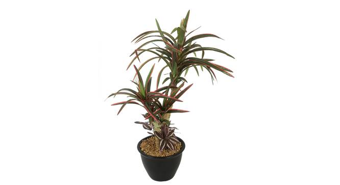 Amanda Artificial Plant With Pot (Red) by Urban Ladder - Cross View Design 1 - 325731