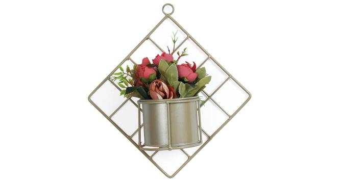 Martin Artificial Plant With Pot (Red) by Urban Ladder - Front View Design 1 - 325778