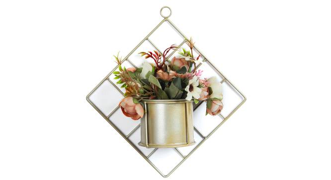 Ralph Artificial Plant With Pot (Peach) by Urban Ladder - Front View Design 1 - 325802