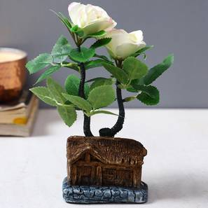 Young artificial plant with pot lp