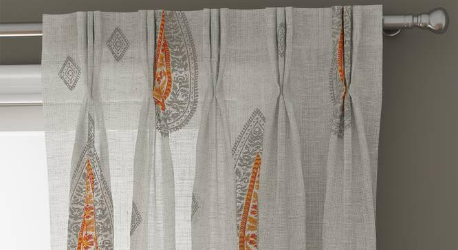 "Sahara Window Curtains - Set Of 2 (112 x 152 cm  (44"" x 60"") Curtain Size) by Urban Ladder - Design 1 Top Image - 325868"