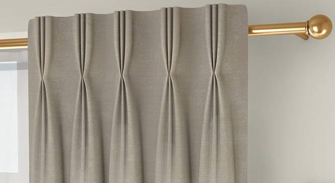 "Simone Door Curtains - Set Of 2 (Cream, 112 x 213 cm  (44"" x 84"") Curtain Size) by Urban Ladder - Design 1 Top Image - 325939"