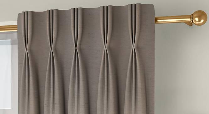 "Tonino Door Curtains - Set Of 2 (Beige, 112 x 213 cm  (44"" x 84"") Curtain Size) by Urban Ladder - Design 1 Top Image - 326131"