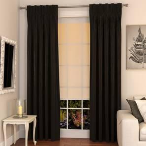 Matka door curtains set of 2 9 ebony american lp