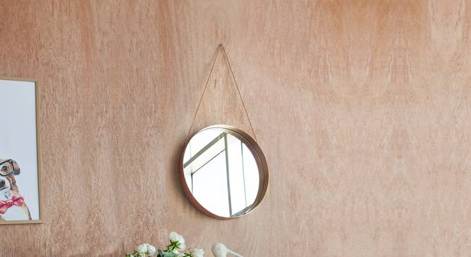 Kailey Mirror (Copper) by Urban Ladder - Design 1 Details - 327310