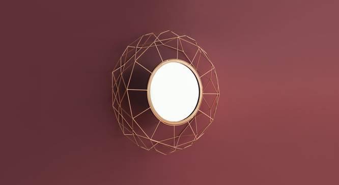 Ori Mirror (Gold) by Urban Ladder - Design 1 Details - 327320