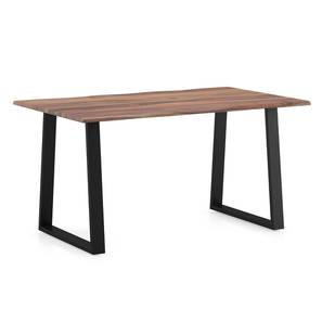 Aquila Live Edge 6 Seater Dining Table (Teak Finish) by Urban Ladder - Design 1 Details - 327468