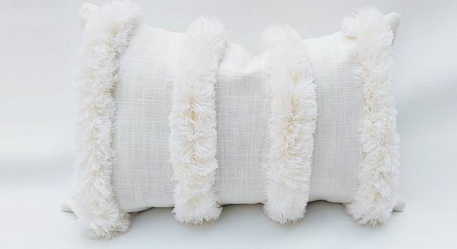 "Erinn Cushion Cover (Off White, 51 x 51 cm  (20"" X 20"") Cushion Size) by Urban Ladder - Front View Design 1 - 327567"