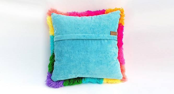"""Edna Cushion Cover (30 x 30 cm  (12"""" X 12"""") Cushion Size) by Urban Ladder - Rear View Design 1 - 327606"""