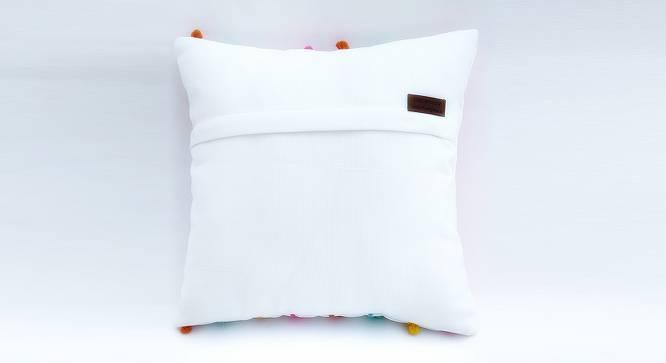 """Kam Cushion Cover (30 x 30 cm  (12"""" X 12"""") Cushion Size) by Urban Ladder - Rear View Design 1 - 327628"""