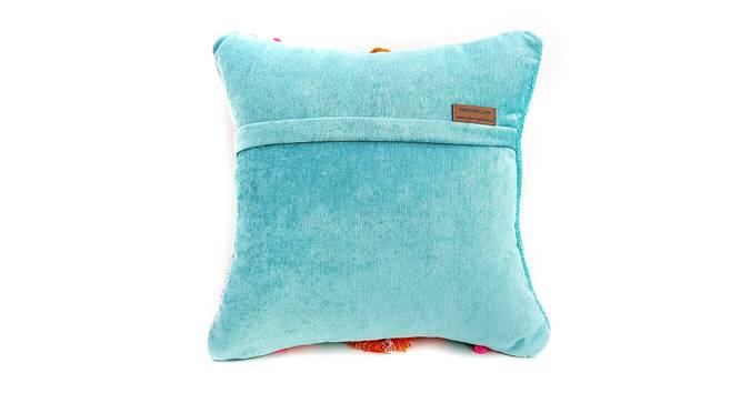 """Jones Cushion Cover (30 x 30 cm  (12"""" X 12"""") Cushion Size) by Urban Ladder - Rear View Design 1 - 327629"""