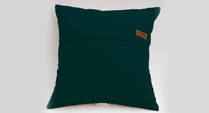"Dena Cushion Cover (Green, 30 x 30 cm  (12"" X 12"") Cushion Size) by Urban Ladder - Front View Design 1 - 327642"