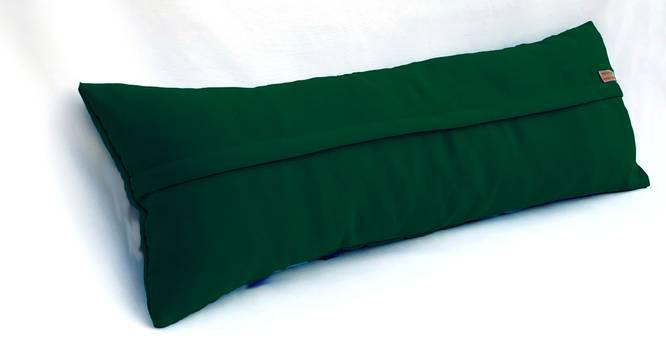 """Dena Cushion Cover (Green, 30 x 30 cm  (12"""" X 12"""") Cushion Size) by Urban Ladder - Rear View Design 1 - 327653"""