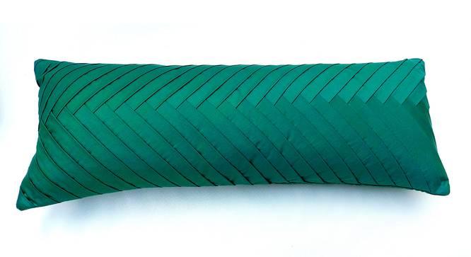 "Dena Cushion Cover (Green, 41 x 41 cm  (16"" X 16"") Cushion Size) by Urban Ladder - Front View Design 1 - 327657"