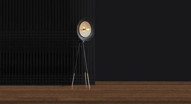 LOUVRE FLOOR LAMP (Black Finish) by Urban Ladder - Design 1 Details - 327899