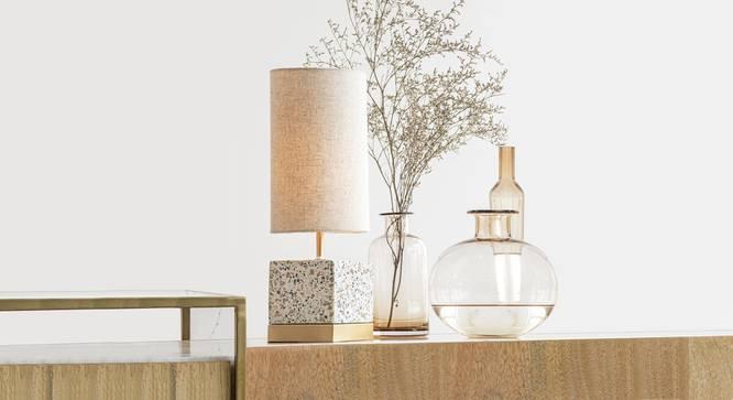 SPECKLE TABLE LAMP SQUARE (Black Finish) by Urban Ladder - Design 1 Details - 327908