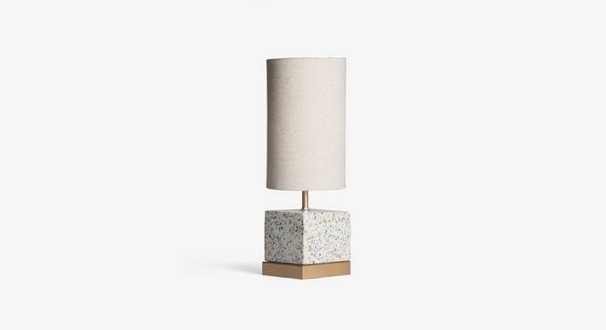 SPECKLE TABLE LAMP SQUARE (Black Finish) by Urban Ladder - Design 1 Top View - 327909