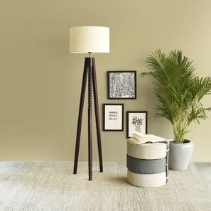 Oman  Floor Lamp (Black Finish) by Urban Ladder - Design 1 Details - 327938