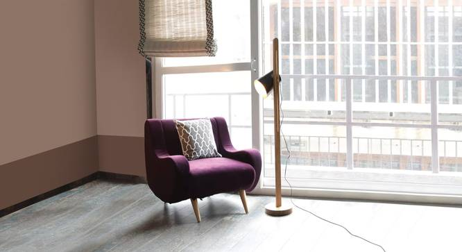 Java  Floor Lamp (Black Finish) by Urban Ladder - Design 1 Top View - 327948