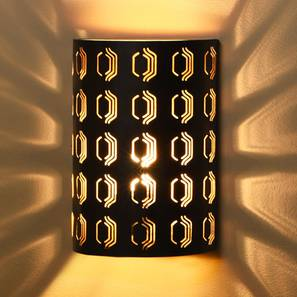 Zoro  Wall Lamp (Black Finish) by Urban Ladder - Design 1 Details - 327952
