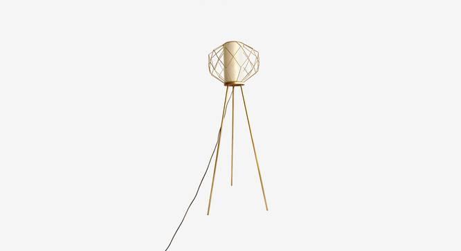 Ori Floor Lamp (Black Finish) by Urban Ladder - Design 1 Top View - 327958