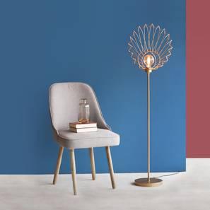 Uchiwa Floor Lamp (Black Finish) by Urban Ladder - Design 1 Details - 327965