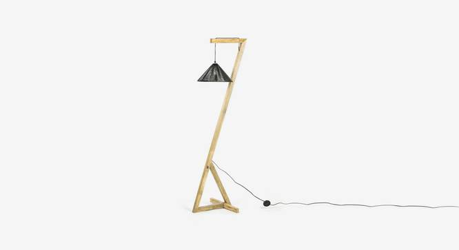 Charmer  Floor Lamp (Black Finish) by Urban Ladder - Design 1 Top View - 327969