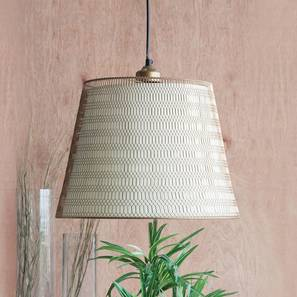 Rhombus  hanging lamp gold lp
