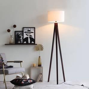 Zetta  floor lamp walnut kd lp