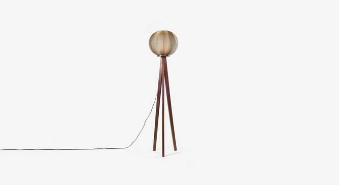 Tappa  Floor Lamp (Black Finish) by Urban Ladder - Design 1 Top View - 328024