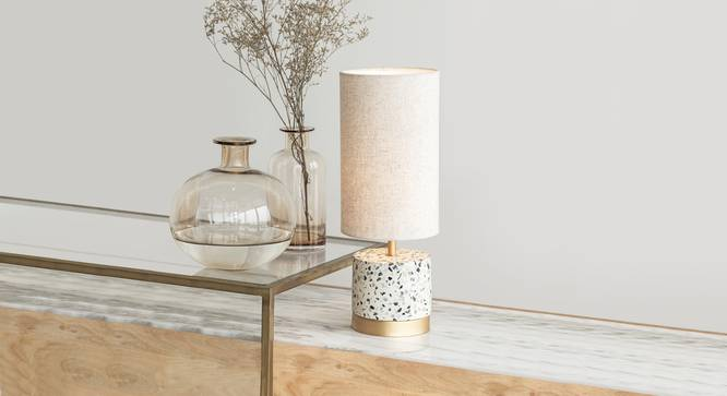 SPECKLE TABLE LAMP ROUND (Black Finish) by Urban Ladder - Design 1 Details - 328028
