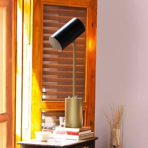 Midas  study table lamp black lp