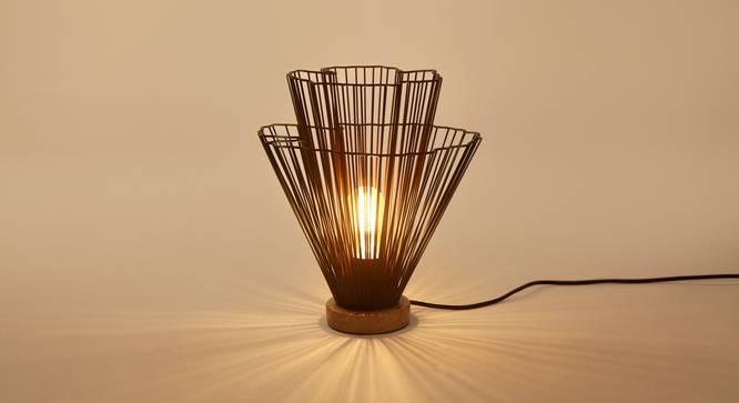KLIMT Table Lamp (Black Finish) by Urban Ladder - Design 1 Top View - 328086
