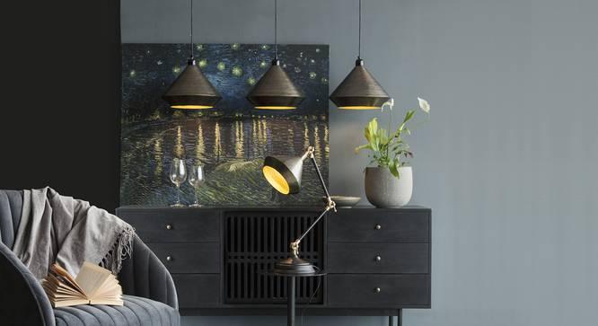 CHRYSLER  Hanging Lamp (Black Finish) by Urban Ladder - Design 1 Details - 328107